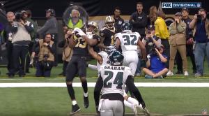 Michael Thomas vs Eagles