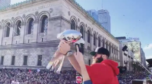 Julian Edelman - Super Bowl LIII parade