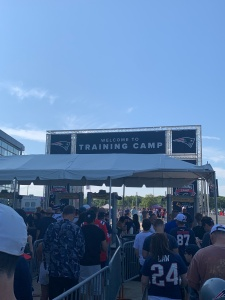 Patriots Training Camp 2019