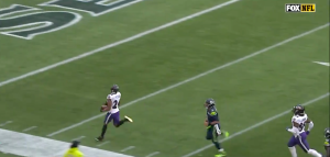 Marcus Peters pick-six vs Seahawks