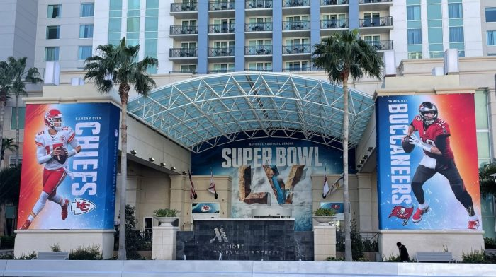 Super Bowl 55, Tampa Hotel